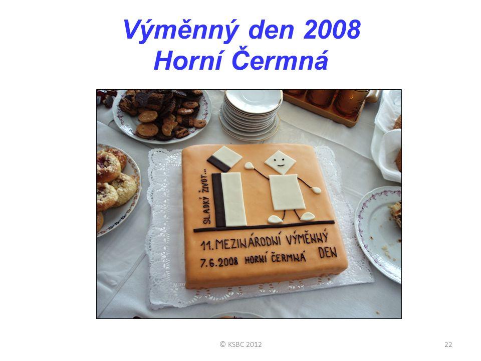 Výměnný den 2008 Horní Čermná