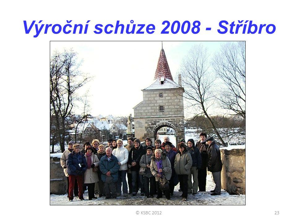 Výroční schůze 2008 - Stříbro