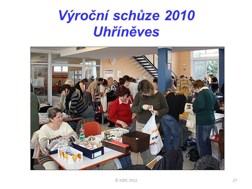 Výroční schůze 2010 Uhříněves