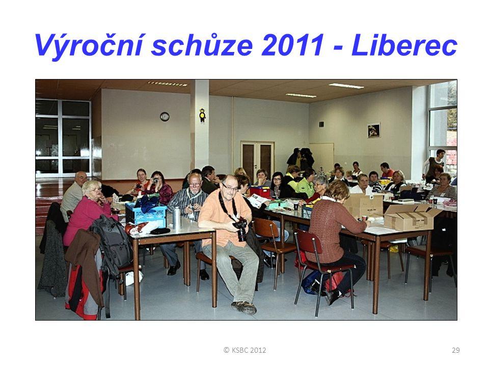 Výroční schůze 2011 - Liberec