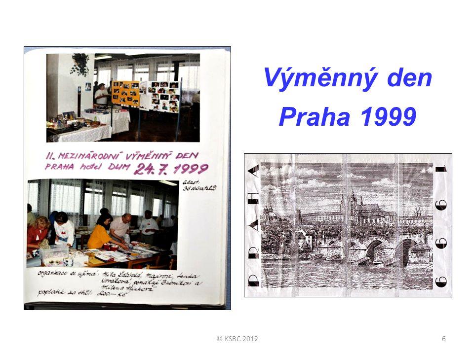 Výměnný den Praha 1999 © KSBC 2012