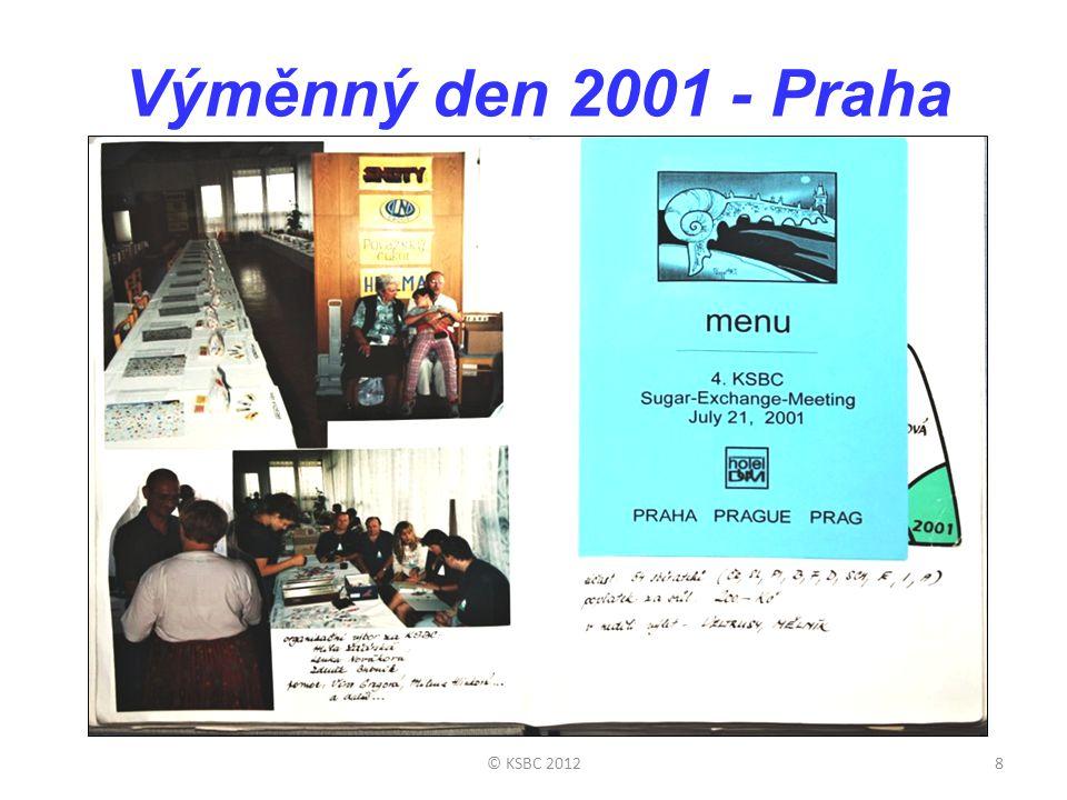 Výměnný den 2001 - Praha © KSBC 2012