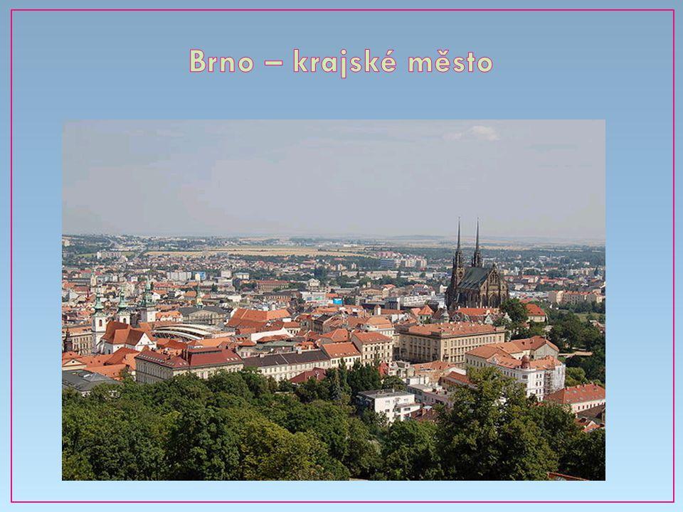 Brno – krajské město