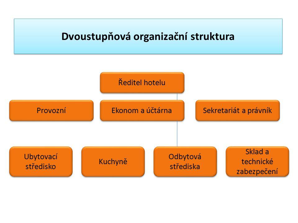 Dvoustupňová organizační struktura
