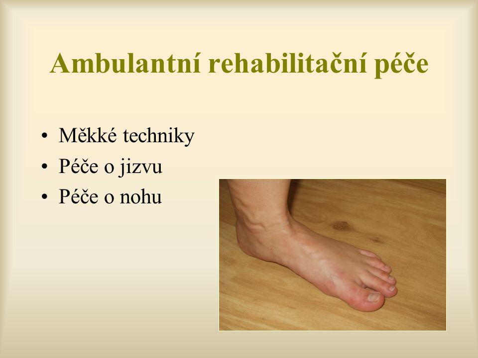 Ambulantní rehabilitační péče