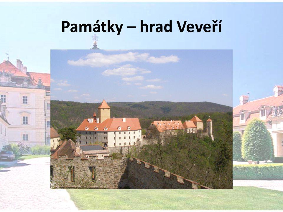 Památky – hrad Veveří