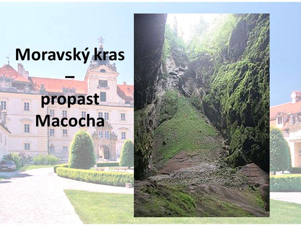Moravský kras – propast Macocha