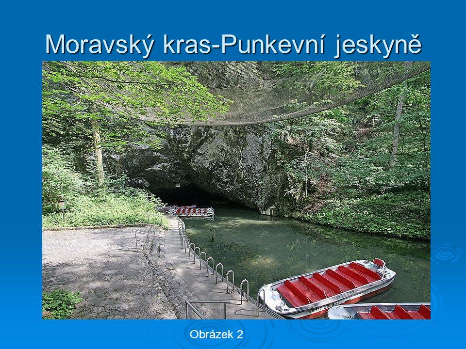 Moravský kras-Punkevní jeskyně