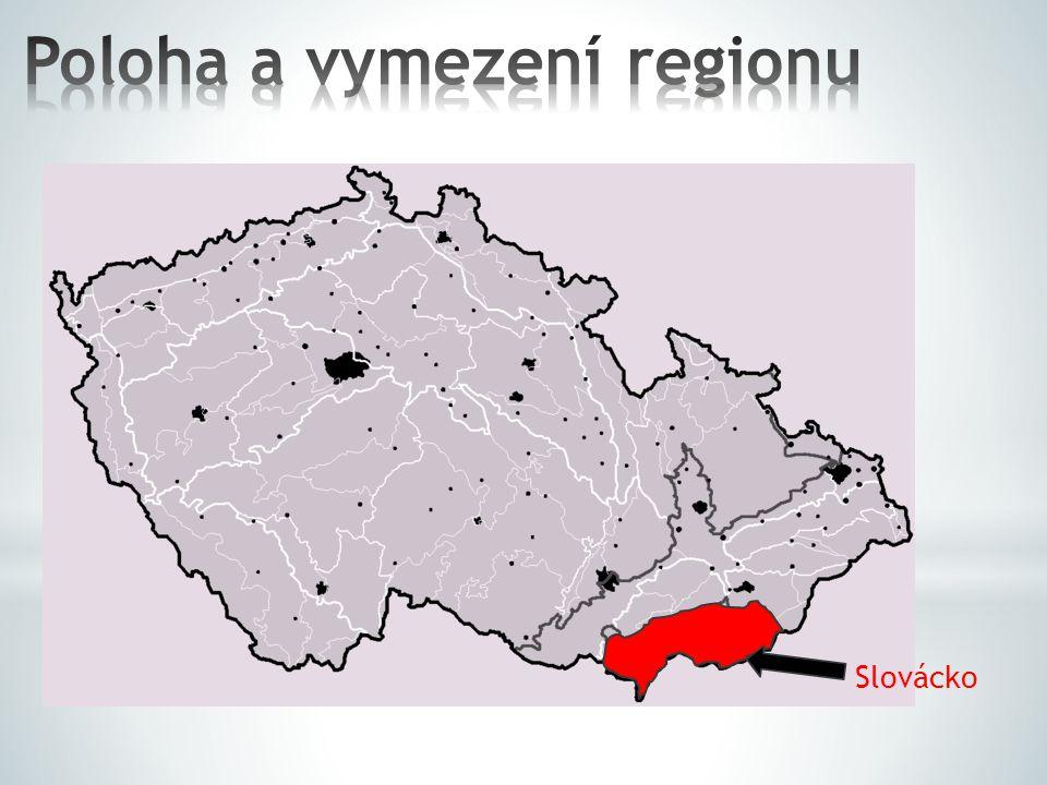 Poloha a vymezení regionu