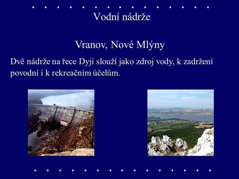 Vodní nádrže Vranov, Nové Mlýny