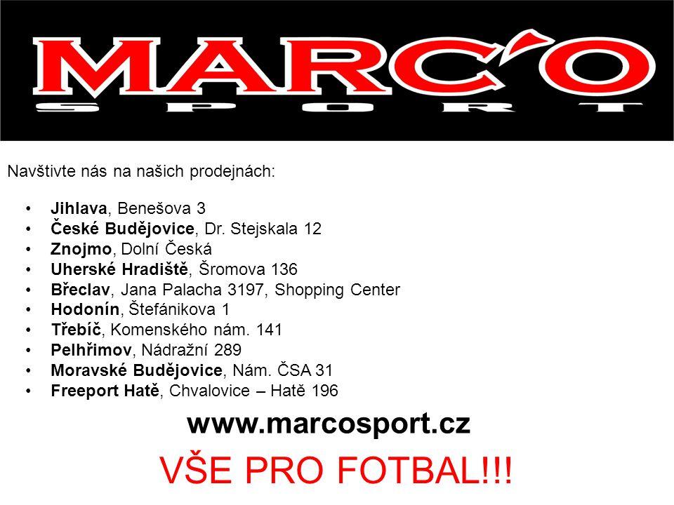 VŠE PRO FOTBAL!!! www.marcosport.cz