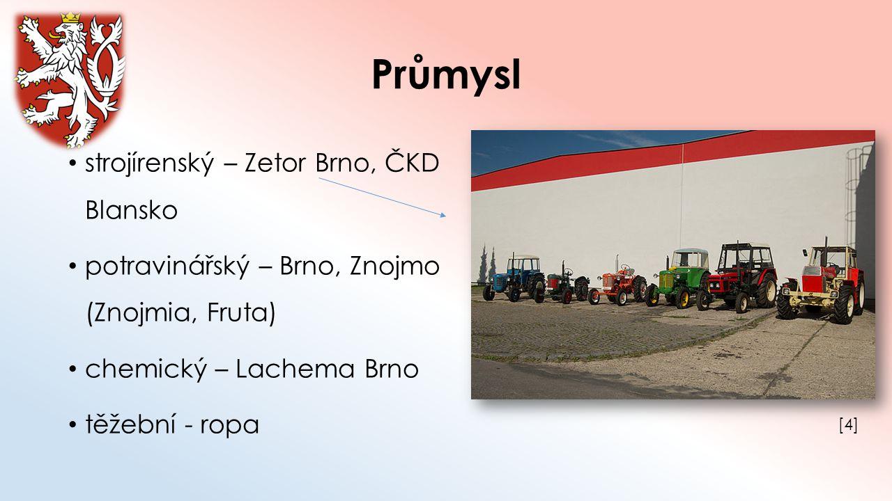Průmysl strojírenský – Zetor Brno, ČKD Blansko