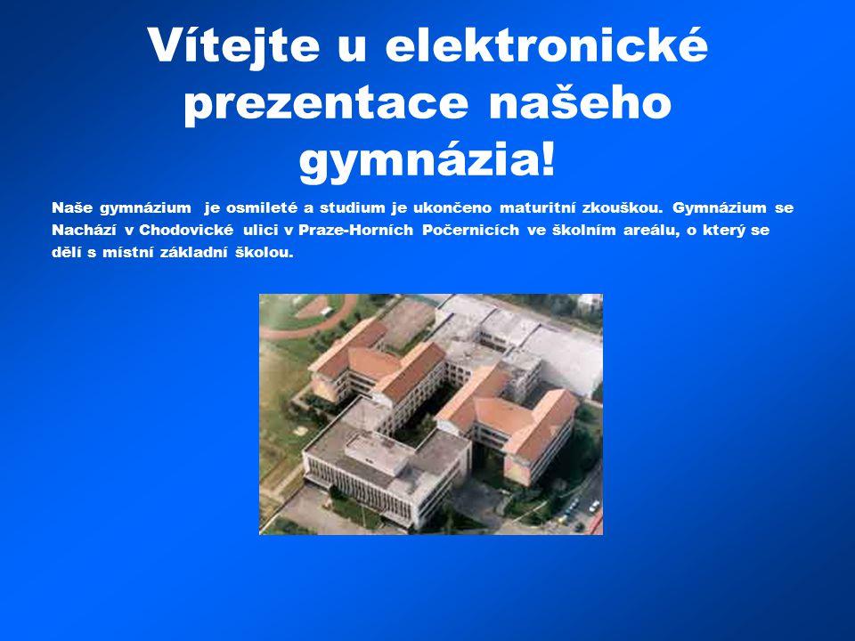 Vítejte u elektronické prezentace našeho gymnázia!