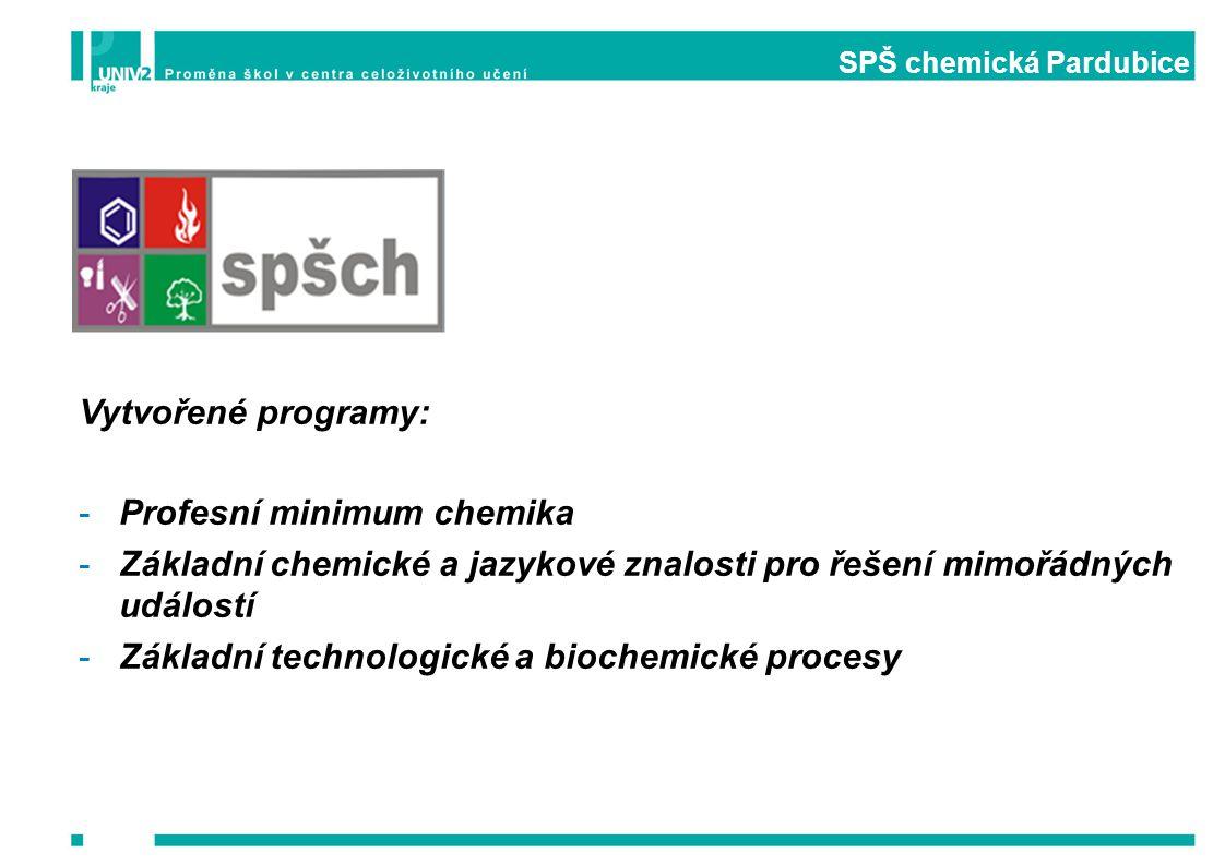 SPŠ chemická Pardubice