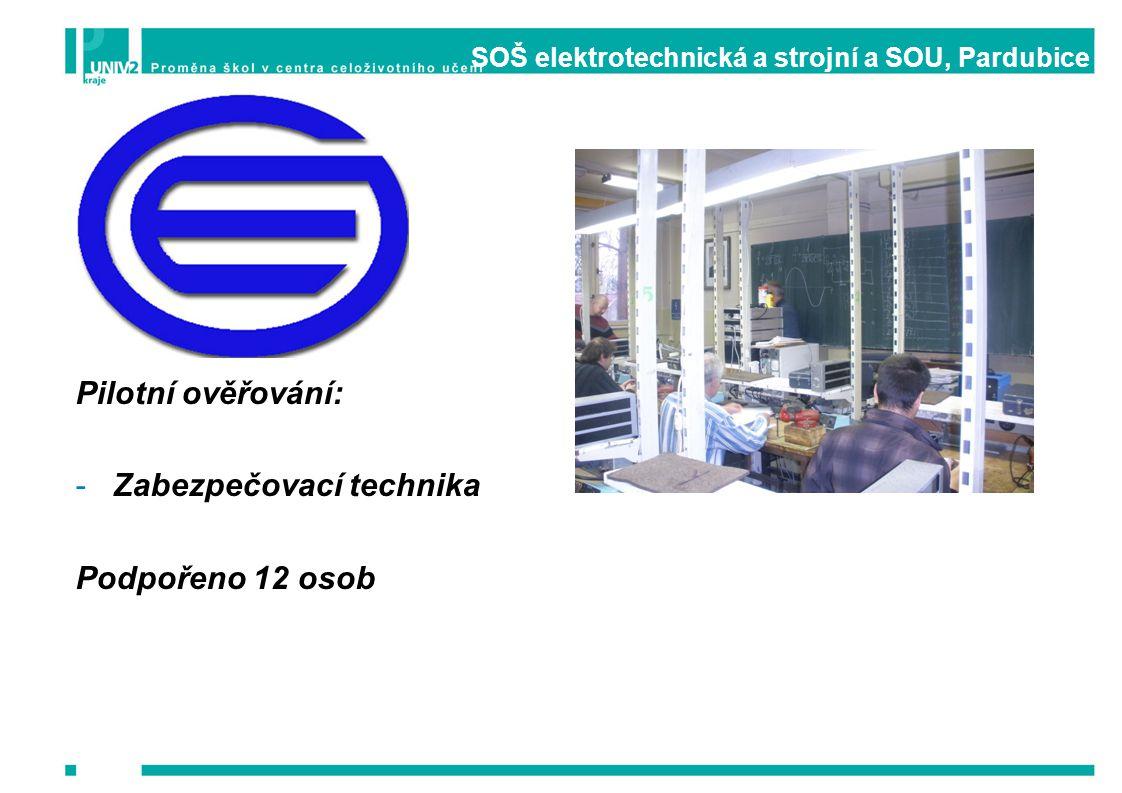 SOŠ elektrotechnická a strojní a SOU, Pardubice