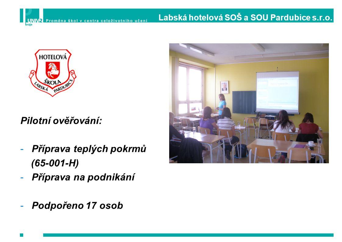Labská hotelová SOŠ a SOU Pardubice s.r.o.