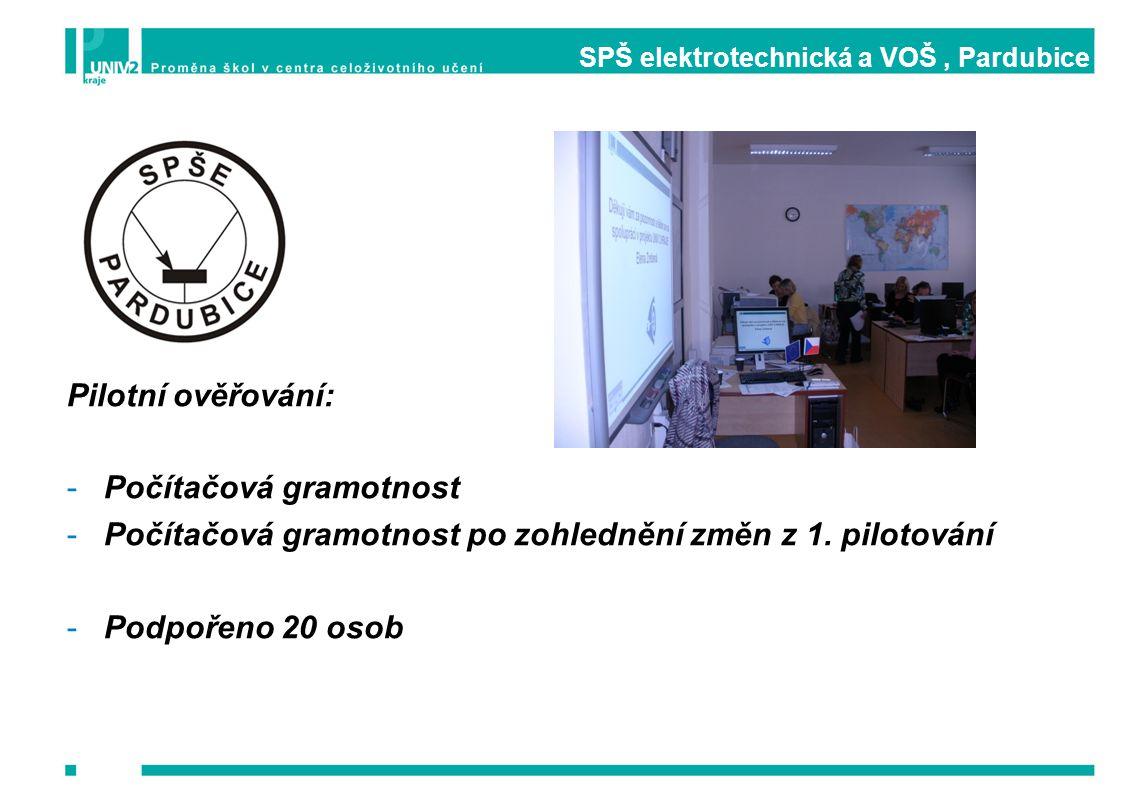 SPŠ elektrotechnická a VOŠ , Pardubice
