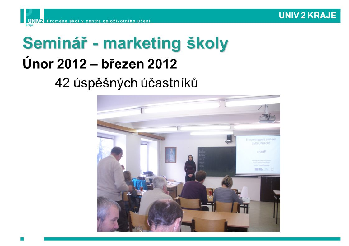 Seminář - marketing školy