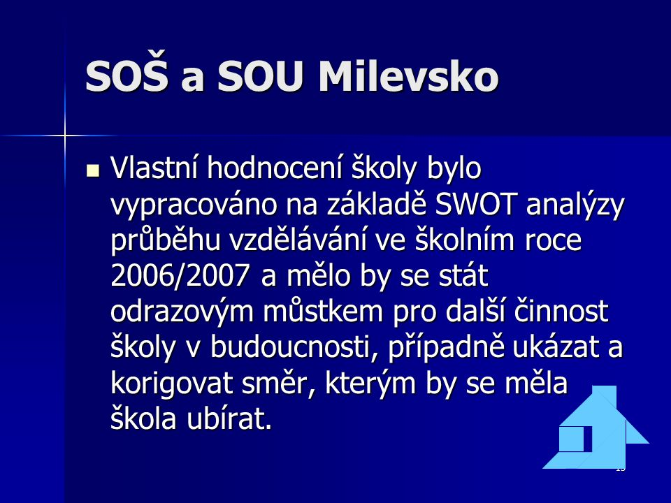 SOŠ a SOU Milevsko