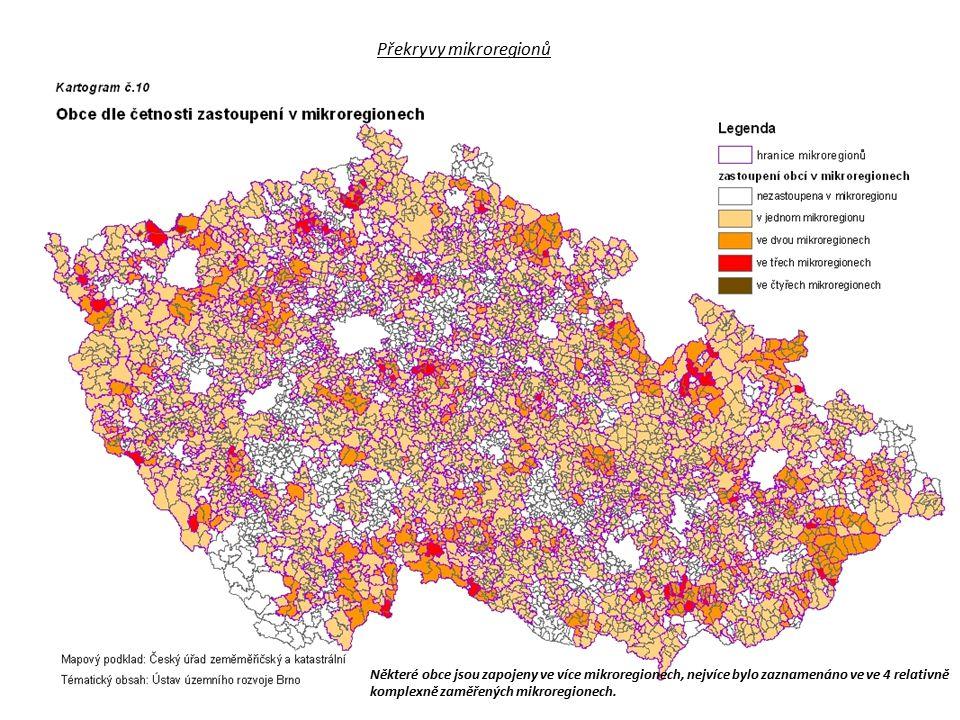 Překryvy mikroregionů