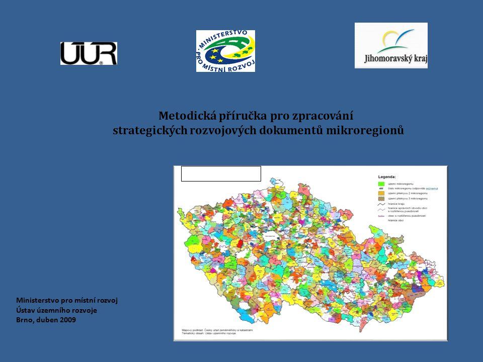 strategických rozvojových dokumentů mikroregionů