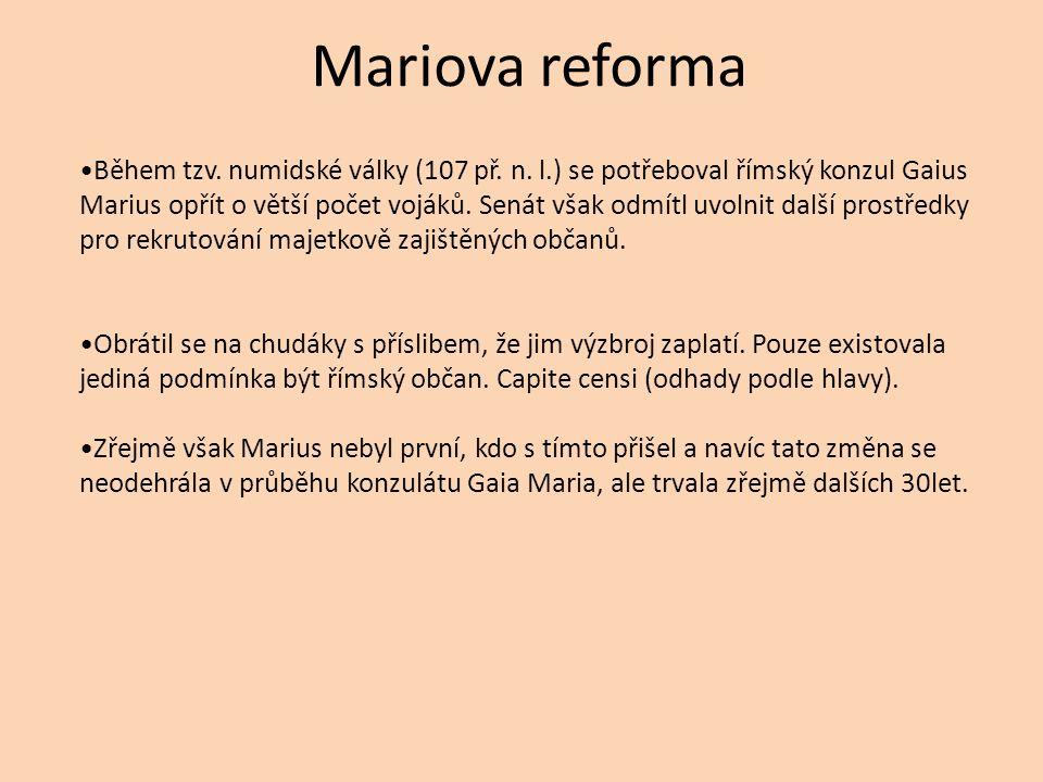 Mariova reforma
