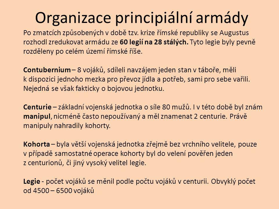 Organizace principiální armády