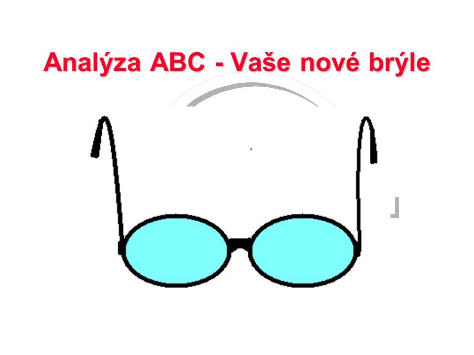 Analýza ABC - Vaše nové brýle