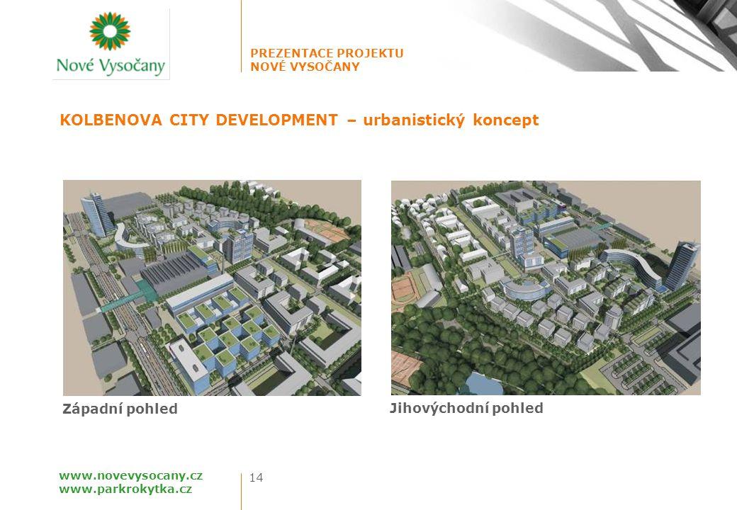 KOLBENOVA CITY DEVELOPMENT – urbanistický koncept