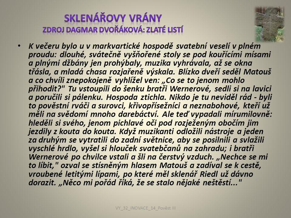 Sklenářovy vrány zdroj Dagmar Dvořáková: Zlaté listí