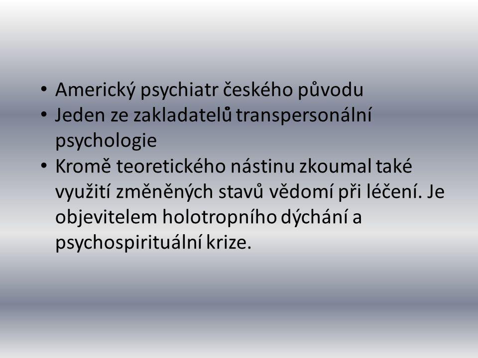 Americký psychiatr českého původu