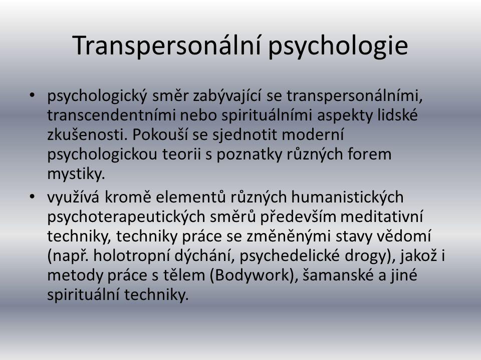 Transpersonální psychologie
