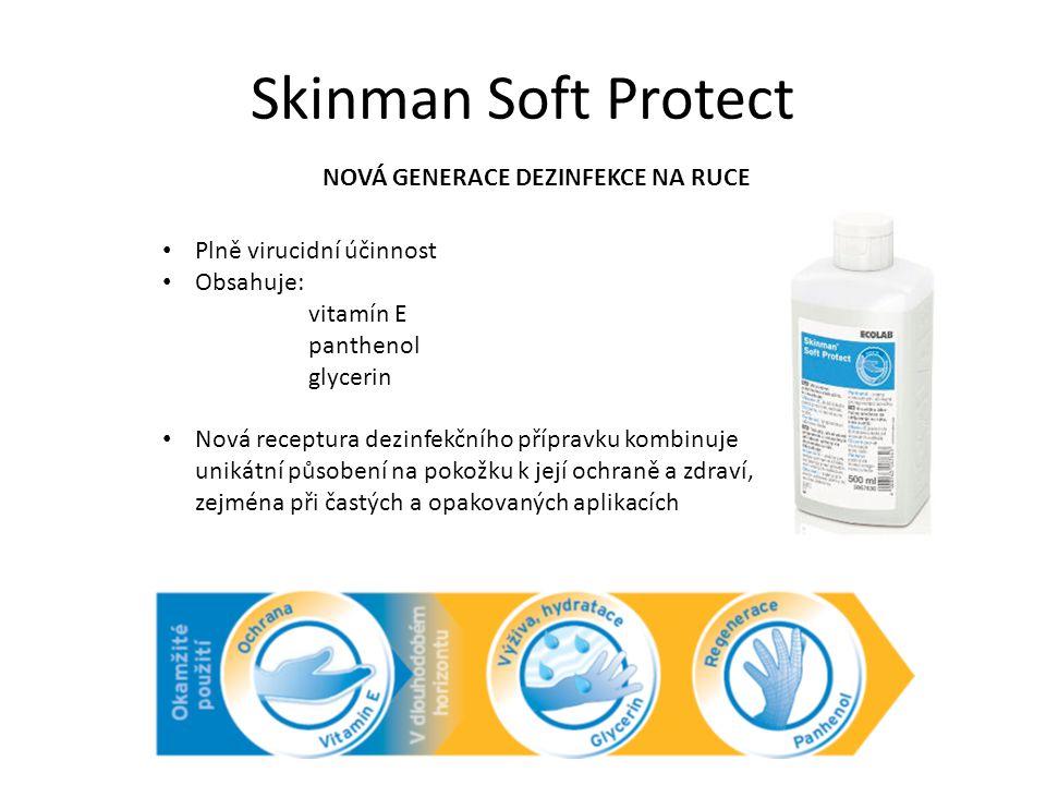 Skinman Soft Protect NOVÁ GENERACE DEZINFEKCE NA RUCE