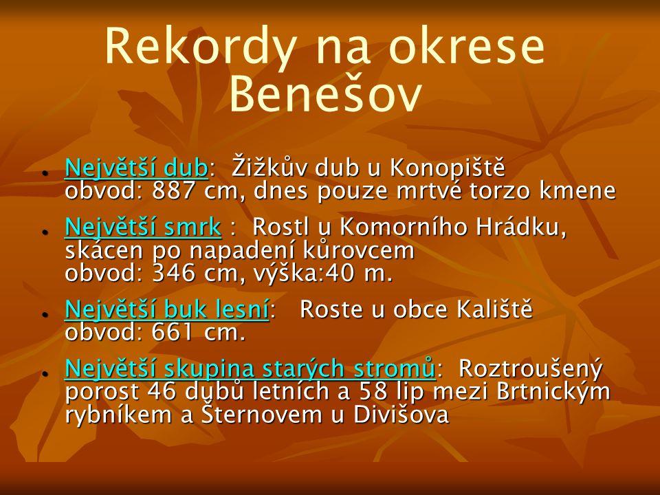 Rekordy na okrese Benešov