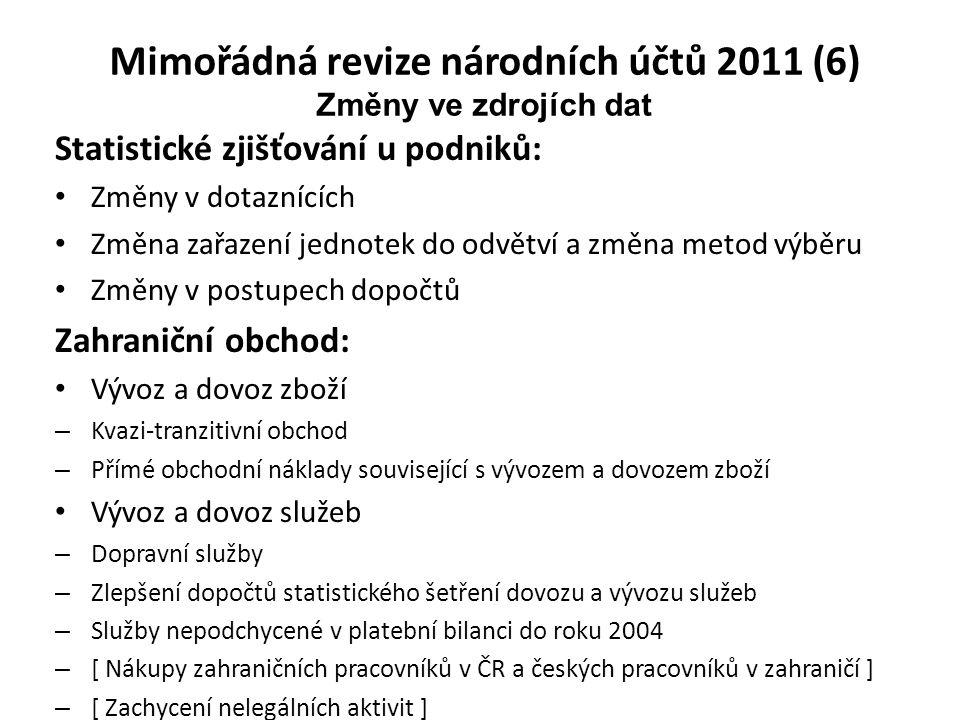 Mimořádná revize národních účtů 2011 (6)