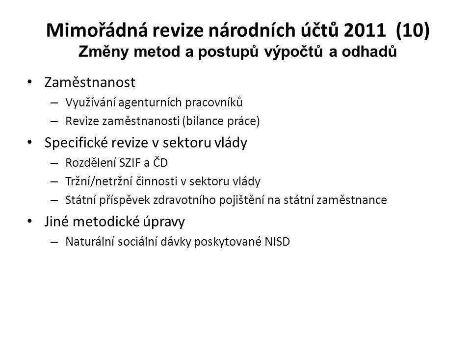 Mimořádná revize národních účtů 2011 (10)