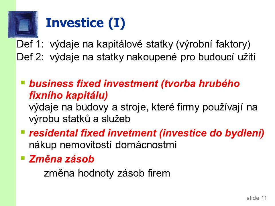 Stav x Tok Tok. Stav. Stav je množství měřené v určitém časovém okamžiku. Např: Zásoba kapitálu k 1.1. 2010 byla 3000 mld. €