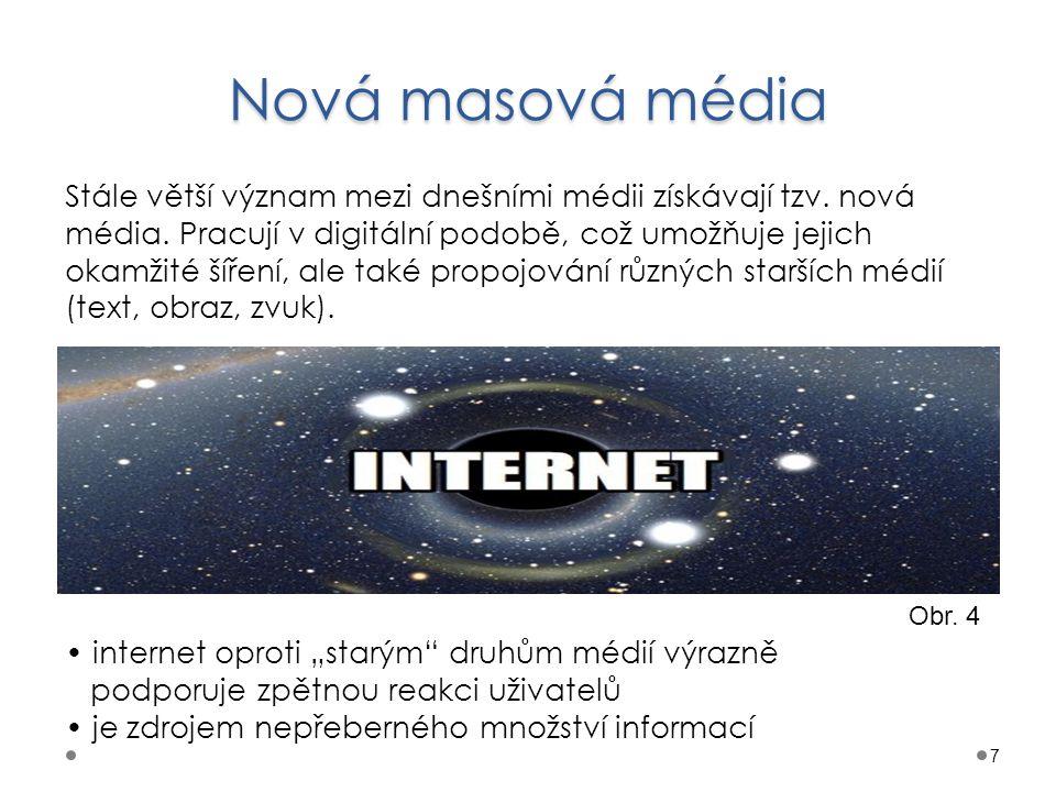 Nová masová média