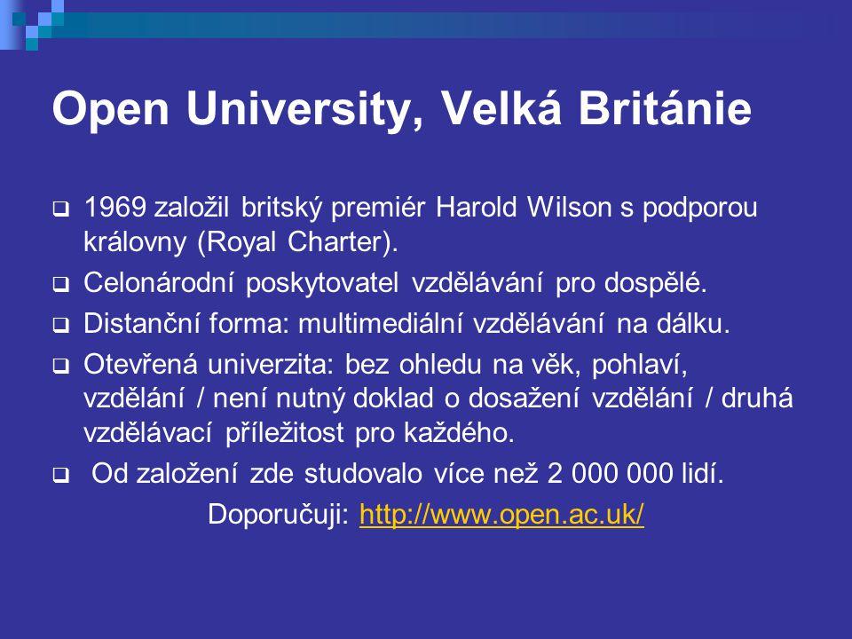 Open University, Velká Británie