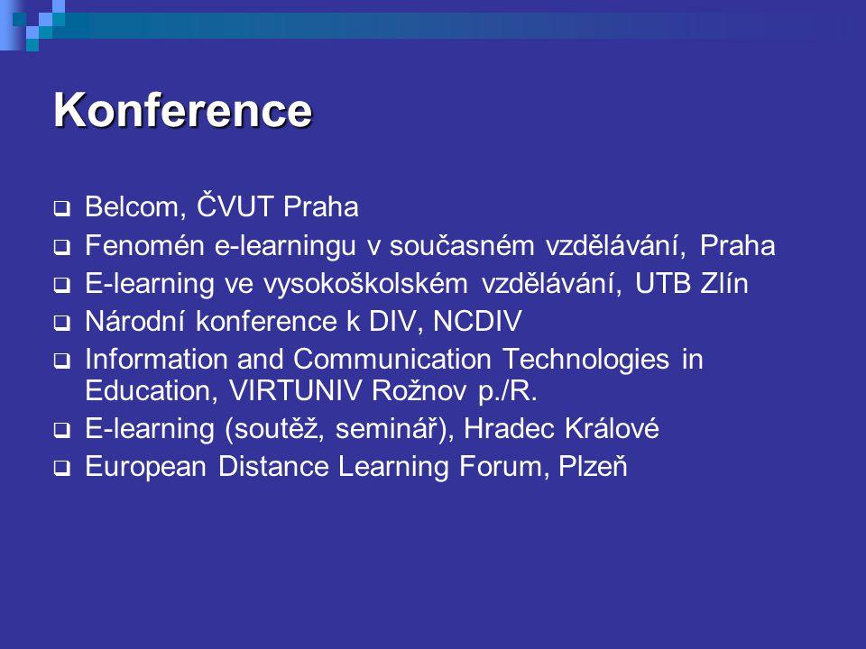 Konference Belcom, ČVUT Praha