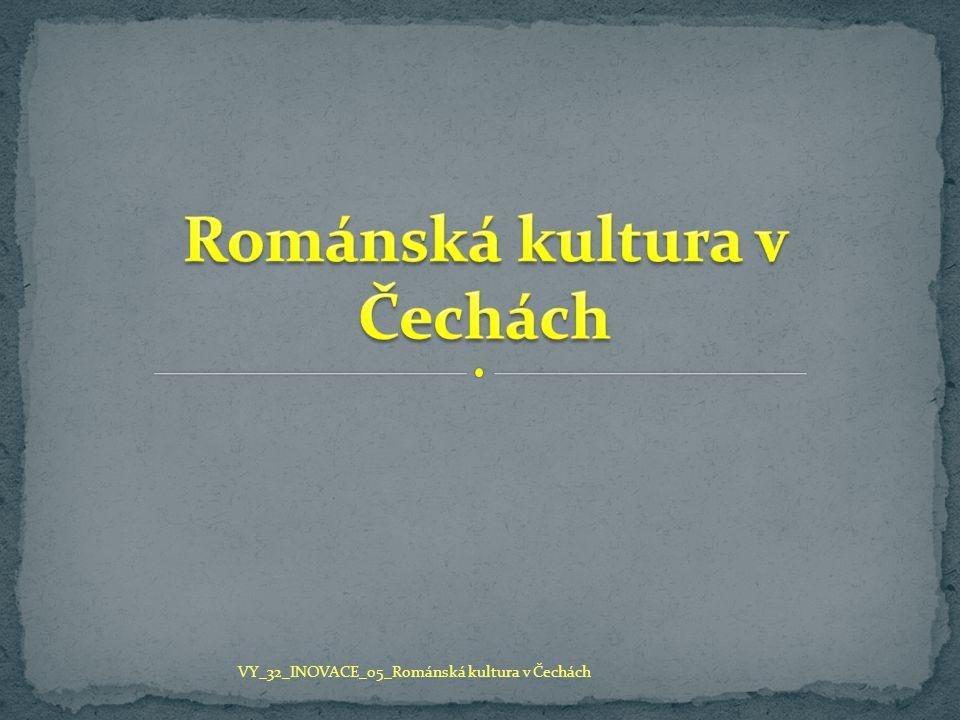 Románská kultura v Čechách