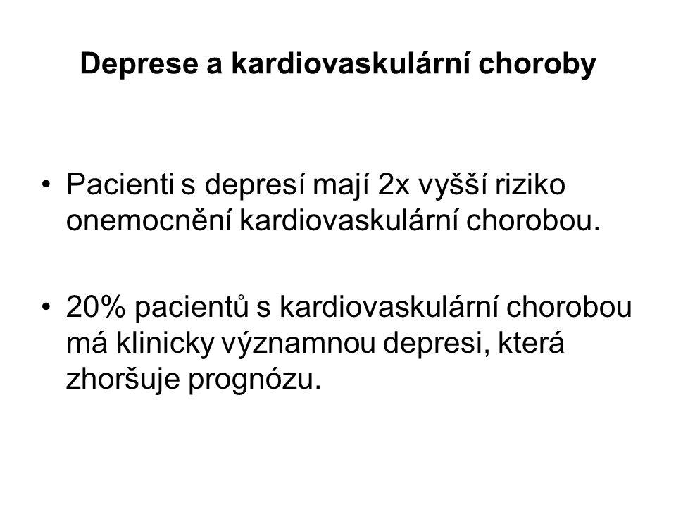 Deprese a kardiovaskulární choroby