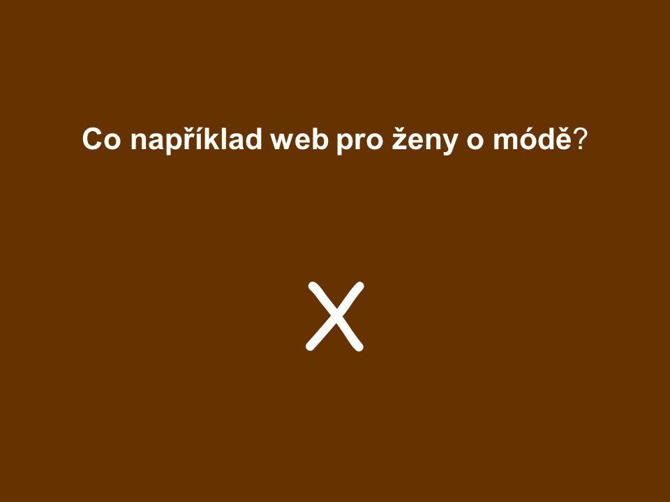 Co například web pro ženy o módě
