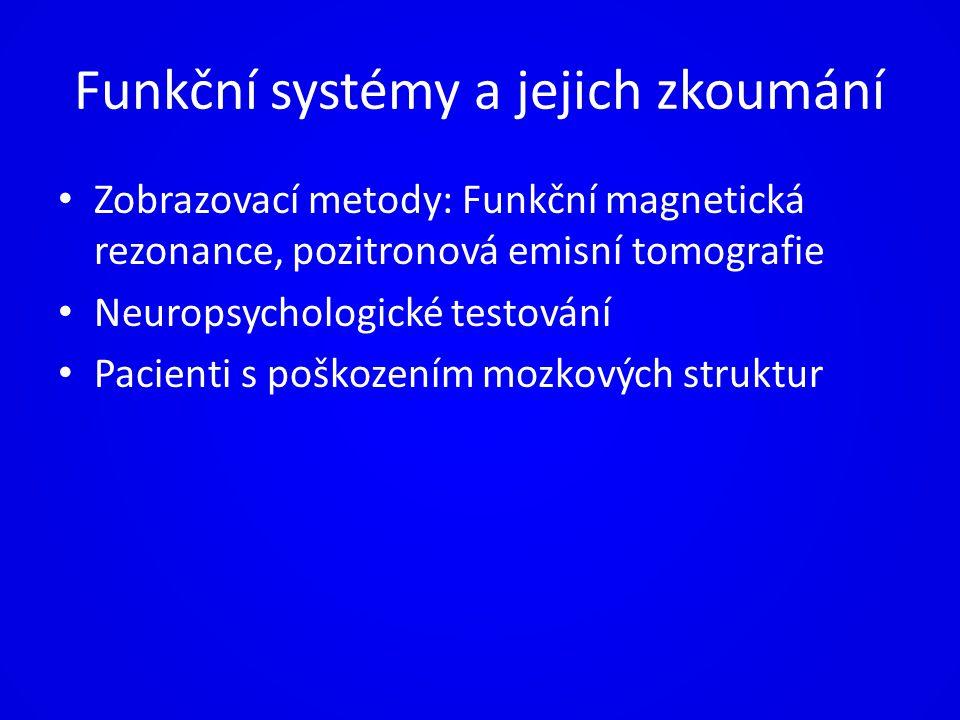 Funkční systémy a jejich zkoumání