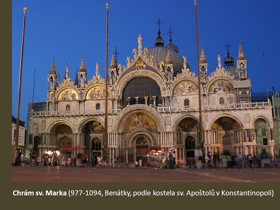 Chrám sv. Marka (977-1094, Benátky, podle kostela sv