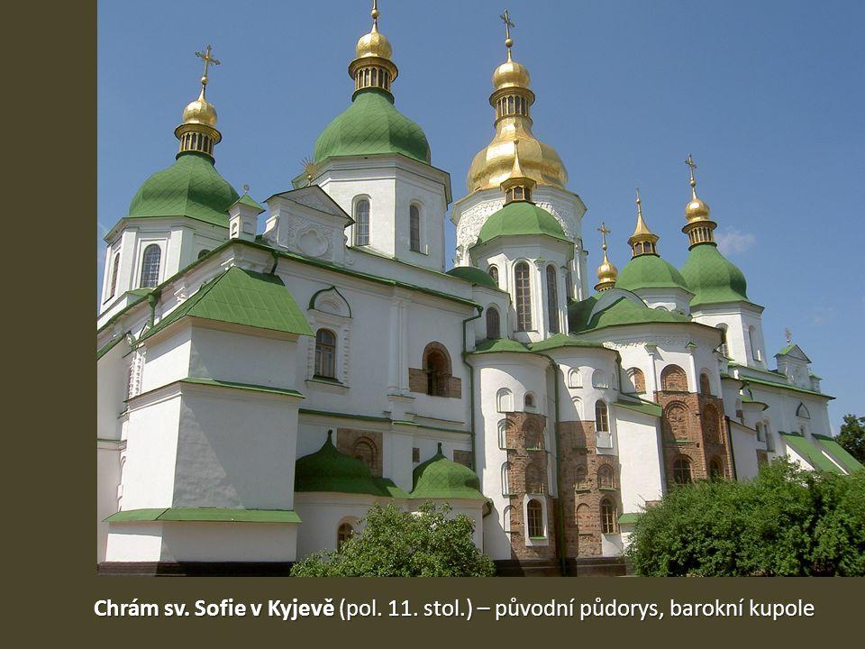 Chrám sv. Sofie v Kyjevě (pol. 11. stol