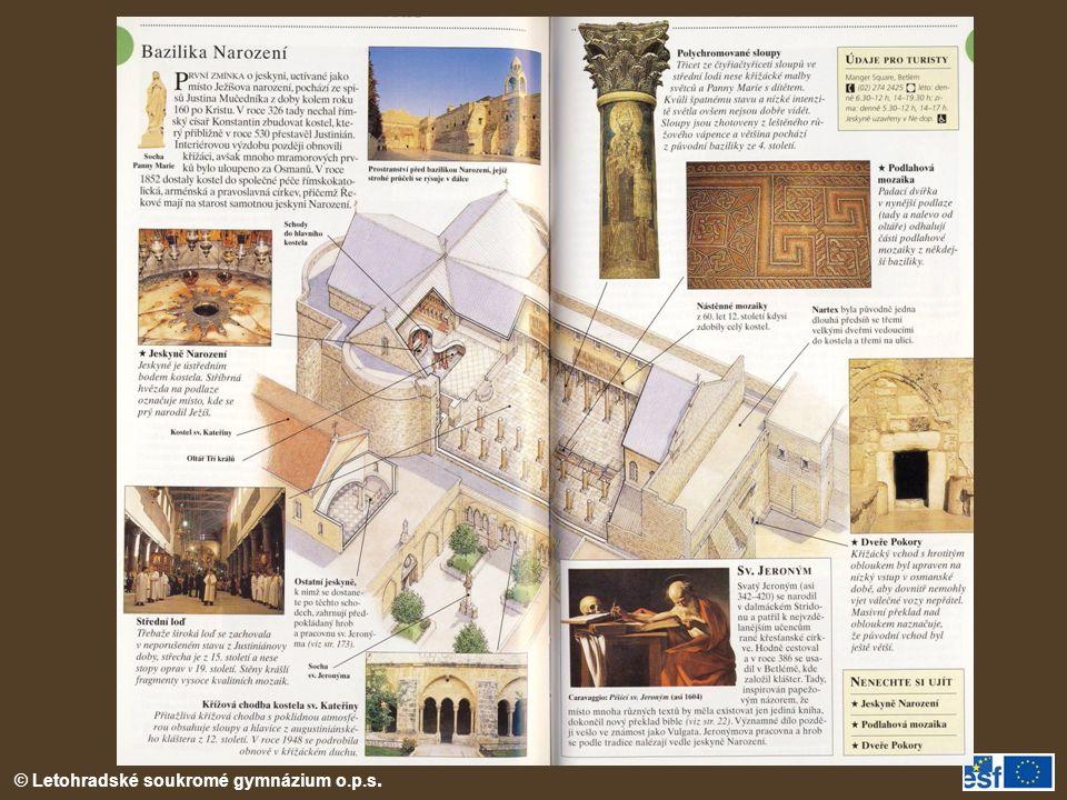 Bazilika Narození v Betlémě