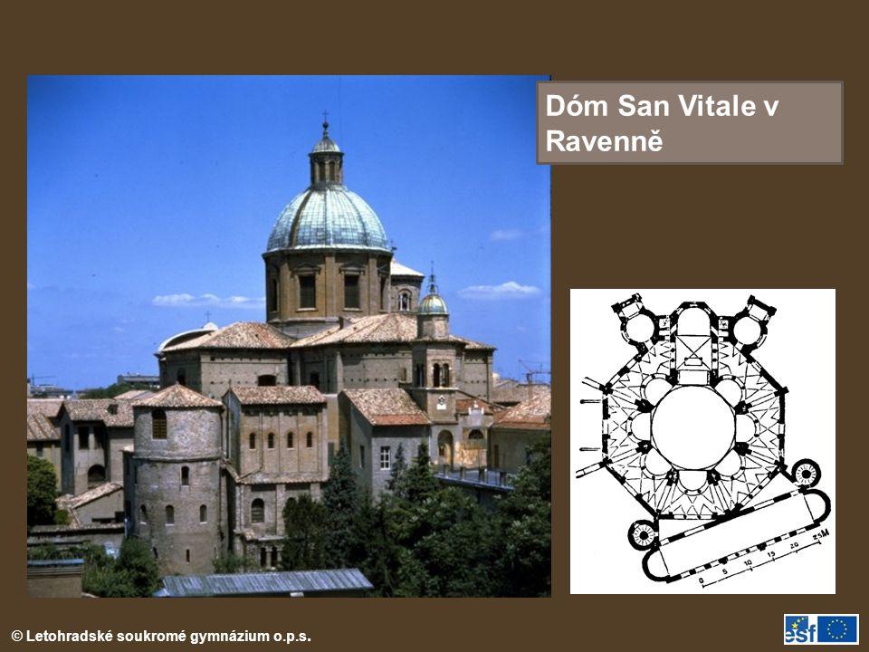Dóm San Vitale v Ravenně