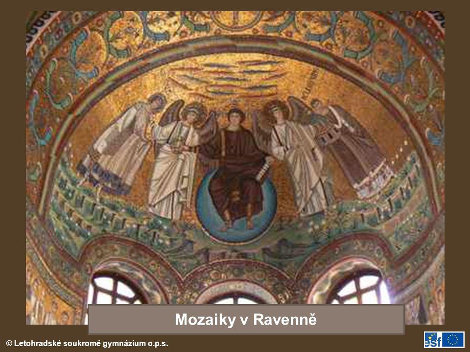 Mozaiky v Ravenně