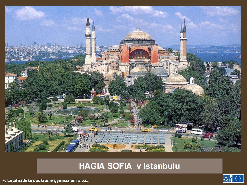HAGIA SOFIA v Istanbulu